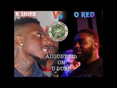 K shine vs O Red - RapBattleUnited